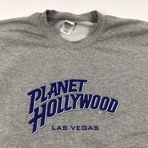 Vintage Planet Hollywood Crewneck Sweatshirt 2XL